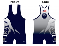 Salmon Creek Silverbacks Blue Singlet