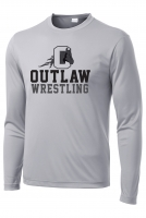 Outlaw Wrestling LS Performance Shirt