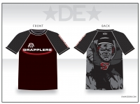 Grapplers Black Sub Shirt