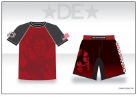 Grapplers Red Sub Shirt and Fight Shorts Pack