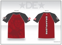 Grapplers Red Sub Shirt
