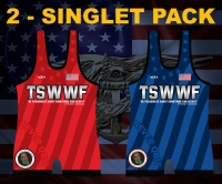 TSWWF High Cut Singlet Pack