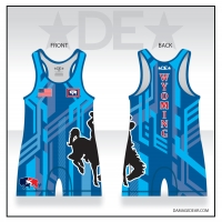Team Wyoming Blue Singlet