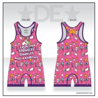 Unicorns and Sprinkles Mens or Womens Singlet