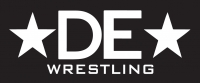 "7.5"" White DE Stars Wrestling Decal"