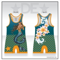 Womens Mermaid Singlet