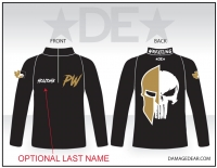 Punisher Wrestling 1/4-Zip Jacket
