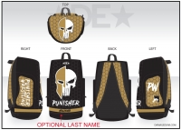 Punisher Wrestling Sublimated Bag