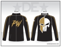 Punisher Wrestling Full-Zip Jacket