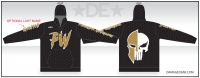 Punisher Wrestling Sublimated Hoodie