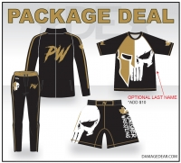 Punisher Wrestling Gold Package