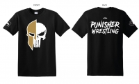 Punisher Wrestling Skull Logo T-shirt