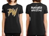 Punisher Wrestling Ladies T-shirt