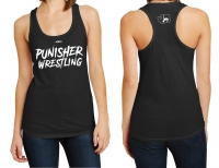 Punisher Wrestling Ladies Racerback Tank