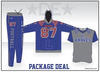 La Conner Custom Sublimated Package