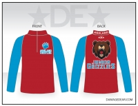 Junior Grizzlies 1/4 Zip Jacket