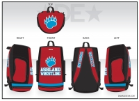 Ashland Wrestling Sublimated Bag