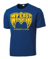 Wy'East Blue Performance Shirt