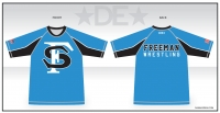 2018 Freeman Wrestling Rash Guard