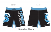 2018 Freeman Wrestling Spandex Shorts