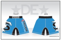 2018 Freeman Wrestling Blue Fight Shorts