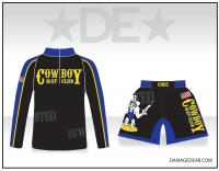 Cowboy Mat Club 1/4 Zip and Fight Shorts Package