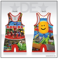 World of Blocks Singlet