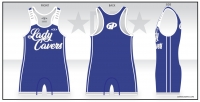 Grants Pass Lady Cavers Singlet