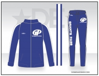 Grants Pass Mens 1/4-Zip Warmup Package