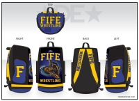 Fife Block F Deluxe Sublimated Bag