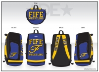 Fife Script F Deluxe Sublimated Bag