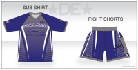 Pullman Greyhounds Sub Shirt and Fight Shorts Combo