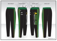 Sweet Home Wrestling Warmup Pants