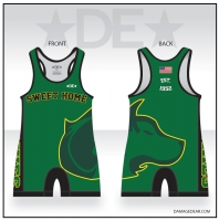 Sweet Home Wrestling Singlet