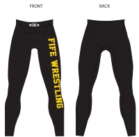 FIFE Womens Black Spandex Pants