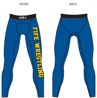 FIFE Womens Blue Spandex Pants