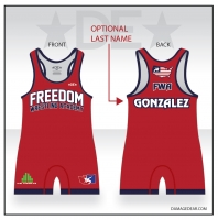 Freedom Wrestling Academy Red Singlet