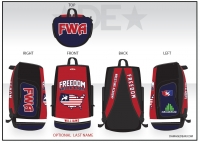 Freedom Wrestling Academy Sublimated Bag