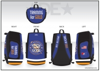 Touch of Gold Sublimated Bag