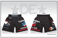 Toppenish Badboy Fight Shorts