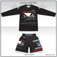 Toppenish Badboy LS Shirt and Shorts