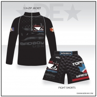 Toppenish Badboy 1/4 Zip and Fight Shorts Package