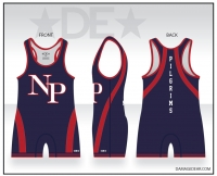 New Plymouth Wrestling Singlet
