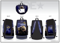 Bear Claw Deluxe Sublimated Bag