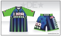 2019 Oregon Regionals Sub Shirt and Fight Shorts Pack