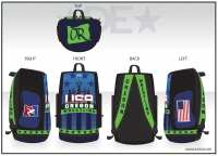 2019 Oregon Regionals Wrestling Bag