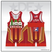 2019 Team Oregon Red Singlet
