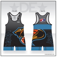 Viper West Blue Freestyle Singlet