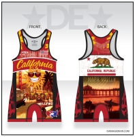 California Republic Mens Singlet