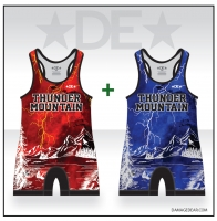 Thunder Mountain Lightning Singlet Pack